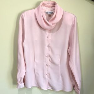 Eva Laurel Women's Blouse Pink, Size 14